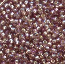 Toho 11/0 Seed Beads Silver Lined Rainbow Amethyst 2026 - 10 grams